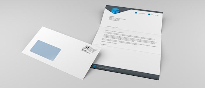 Kuvertiertes Mailing