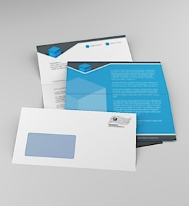 Serienbrief 1 Anschreiben plus Folder (4 Seiten)