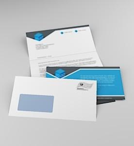 Serienbrief 1 Anschreiben plus Antwortkarte 1 Kuvert
