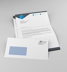 Serienbrief 2 Blatt Anschreiben 1 Kuvert
