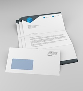Serienbrief 3 Blatt Anschreiben 1 Kuvert