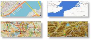 Individualisierungen der Karte