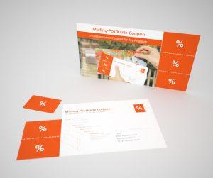 Mailing Postkarte Coupon – Abbildung 2