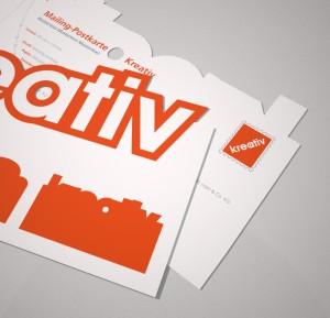 Mailing Postkarte Kreativ - Ansicht 1