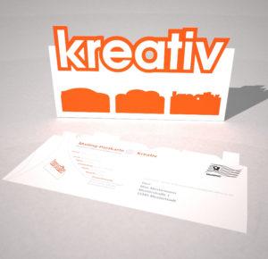 postkarte Kreativ