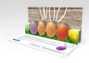 Pop-Up Mailing zu Ostern