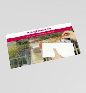 Postkarte XXL
