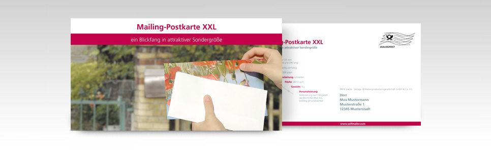 Mailing-Postkarte-XXL