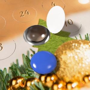 Schoko-Adventskalender-Grußkarte Bild 3