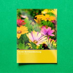 Blumensamen als Werbeartikel und Mailingverstärker