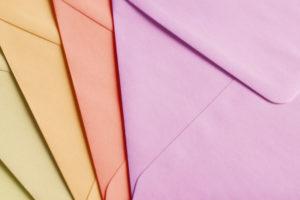 Umschläge aus Feinstpapier