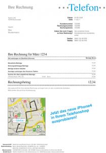 Anwendungsbeispiel Telekom