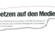 Über den Tellerrand: Audi setzt auf Print im Medienmix