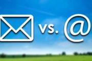 Werbung per Brief und E-Mail: Der CO2-Verbrauch im Vergleich