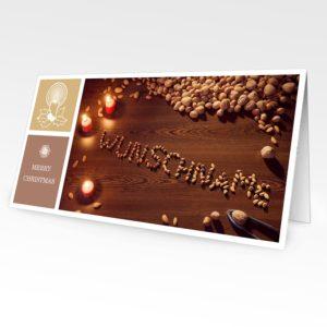 Weihnachtskarte mit bildpersonalisiertem Motiv 3