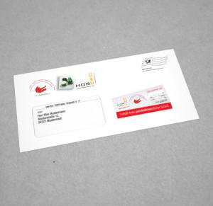 Serienbrief – Kuvertiertes Mailing Bild 2