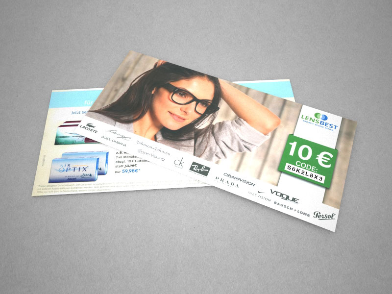 Mailing Postkarte A6