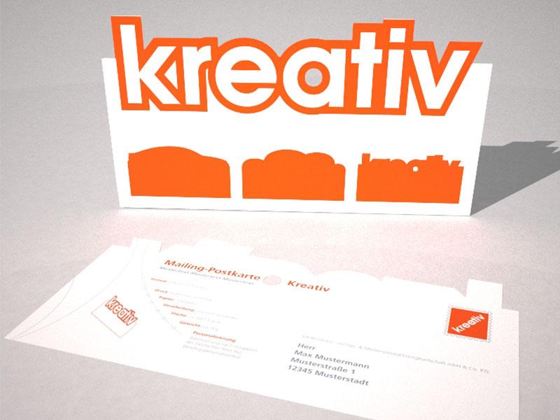Beispiel – kreatives Mailing