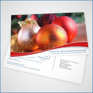 Postkarten-Adventskalender Bild 1