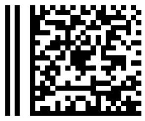 Beispiel für einen Postmatrixcode