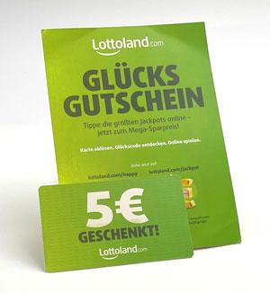Gutschein Lottoland.com Glücksgutschein