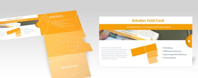 Die Schuber Fold-Card