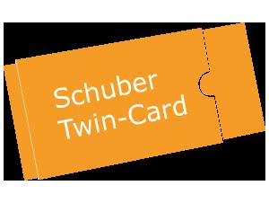 Schuber Twin-Card – magischer Premiummailer