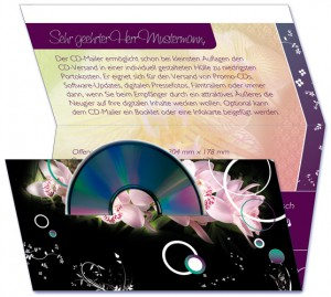 Selfmailer CD