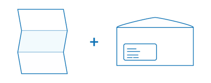 Nielsen-Studie beweist – bedruckte Briefumschläge schlagen Standardmodelle